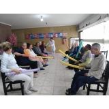 asilo para idoso com médicos Jardim Santana