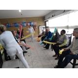 asilo para idoso com nutricionista Parque Brasil