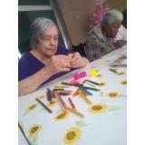 asilo para idoso debilitado particular Parque do Carmo