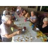 asilo para idosos de curta permanência Jardim Ibirapuera