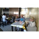 casa para cuidados com idosos Vila Nova Manchester