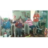 Clínica de internação para idosos