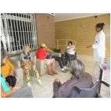 clínica dia geriátrico