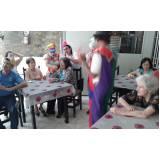 clínica dia para idosos com AVC preço Vila Nova Manchester