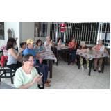 clínica dia para idosos preço Vila Industrial