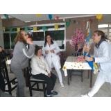 clínica e casa de repouso idoso