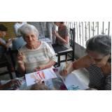 creche para idosos na Vila Nova Manchester