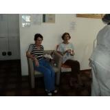 Cuidadores de idosos no Parque Vila Maria