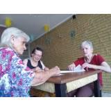 hotel residencial para idosos com atividades físicas preço Ponte Rasa