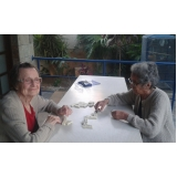 moradia para idosos com atividade física