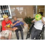 onde encontrar clínica dia para idoso com atividades Vila Maria Augusta
