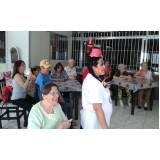 onde encontrar clínica dia para idosos com alzheimer Vila Nova Manchester