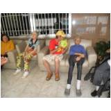 onde encontrar clínica dia para idosos com AVC Chácara Santana