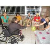 onde encontrar clínica dia para idosos com fisioterapia Vila Santana