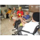 onde encontrar clinica dia para idosos dependentes Jardim Tremembé