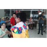 onde encontrar espaços de convivência para idosos Jardim Brasilina