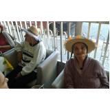 onde encontrar hospedagem para idoso com enfermagem Vila Brasil