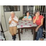 onde encontrar moradia para idosos com atividades recreativas Parque Brasil