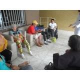 onde encontro cuidados para idosos com Parkinson Vila Luso Brasileira