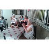 quanto custa hotel residencial para idosos com atividades físicas Vila Brasil