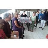 quanto custa hotel residencial para idosos com atividades recreativas Vila Brasil