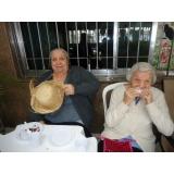 Repouso e descanso de idosos na Mooca